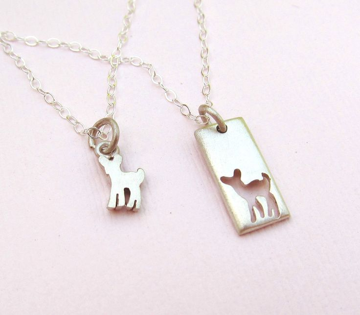 Fawn Mother Daughter Necklace Set – Emily Jane Designs