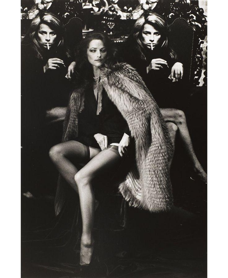 Charlotte Rampling, Paris, 1982 © Helmut Newton Estate  Collection Maison Européenne de la Photographie, Paris