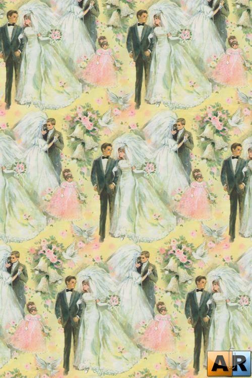 Свадебные винтажные фоны