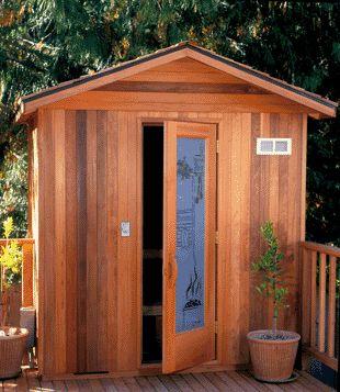 25 best ideas about outdoor sauna on pinterest saunas for Build your own barrel sauna