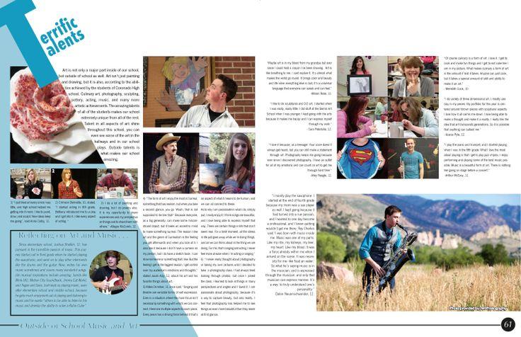 RECUERDOS, Coronado High School, Colorado Springs [CO] #Jostens #LookBook2014 #Ybklove
