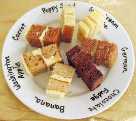 Wedding Cupcake Flavor Ideas: 93 Best Cake Servings & Business Images On Pinterest