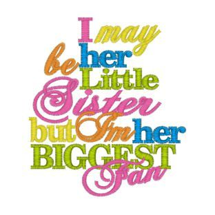 little sisters sayings - Google Search