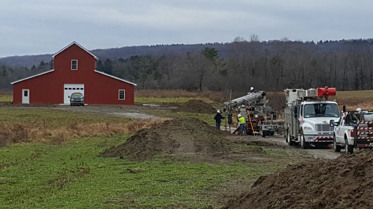Getting the electricity to the barn and home location has been a long process. The barn is 800 feet from the nearest electric pole so poles and lines had to be brought in. A call to the electric …