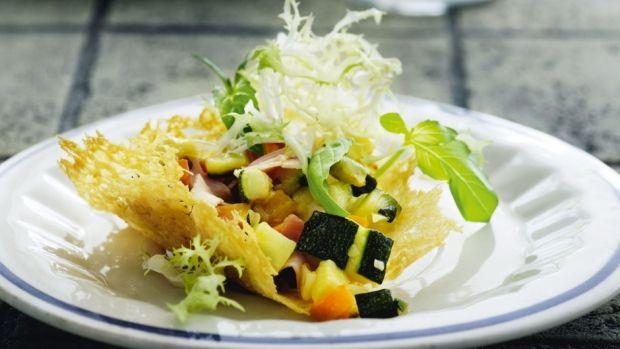 Små Parmesankurve med fyld | Femina