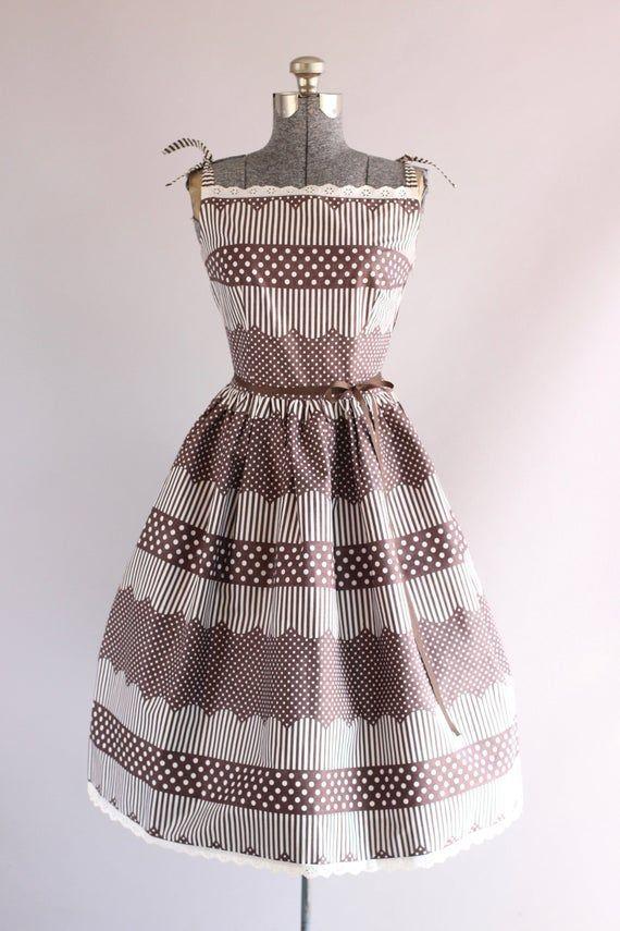 Vintage Betty Barclay Polka Dot Dress