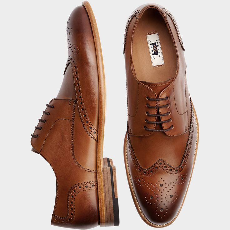 Buy a Joseph Abboud Barstow Brown Wingtip Lace Up Dress Shoes online at Men's Wearhouse. See the latest styles of men's Dress Shoes. FREE Shipping on orders $99+.