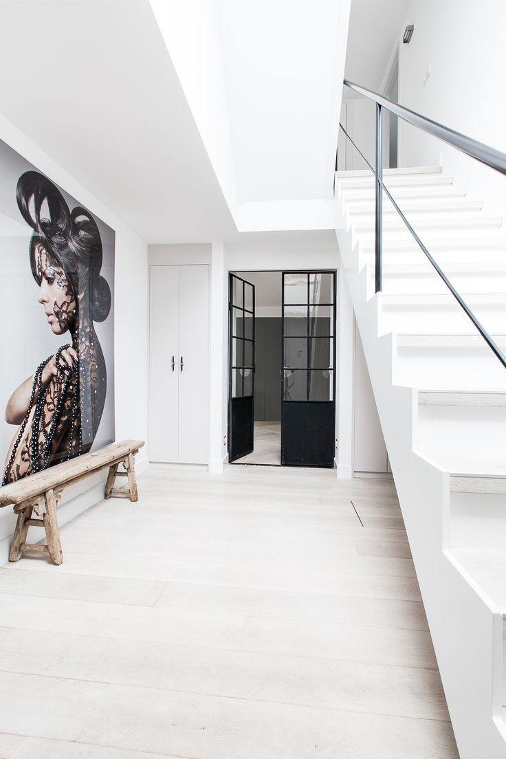 Stairs and hallway Project Amsterdam Zuid @ Sonja Velda Fotografie