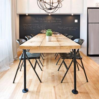 En étape: une table de style industriel - En étapes - Décoration et rénovation - DIY -Pratico Pratiques