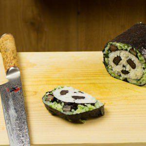 Panda sushi roll recipe | Make Sushi