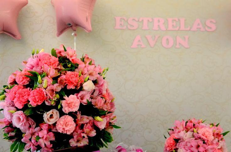 Arranjo de flor totalmente rosa!!!!!