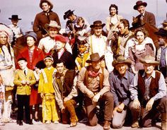 WESTERN TV STARS - Iron Eyes Cody, Bruce Glover, Robert Fuller, Richard Eastham, Sheb Wooley, Dennis Weaver, Clint Eastwood, Frank McGrath, John Smith, Terry Smith, William Demarest, Spring Byington & others.