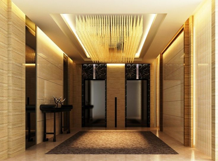 modern elevator lobby design luxury elevator hall ceiling