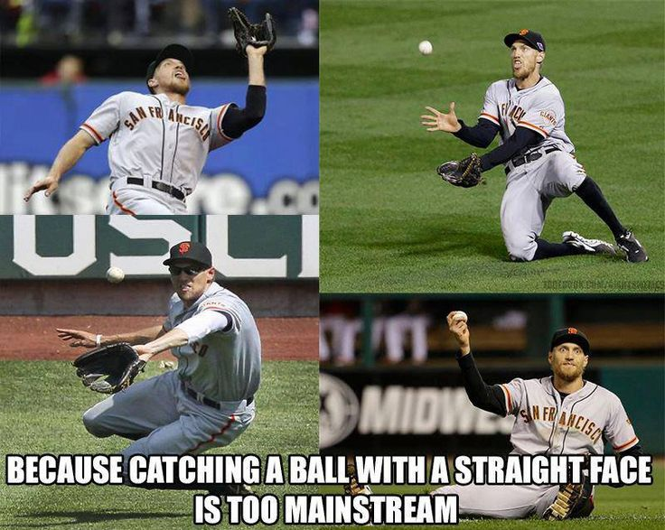 Hunter Pence couldn't be normal if he tried, and we love him for it =)