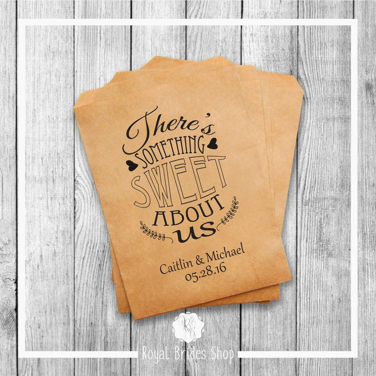 Wedding Favor Bags - Style 013