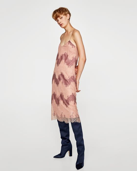 ZARA - SALE - LACE DRESS