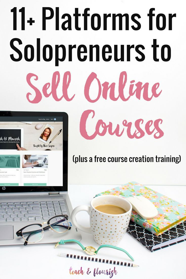 Want to sell online courses? You need a course platform that fits your budget and your needs. Here's a list of some of the best options for solopreneurs.