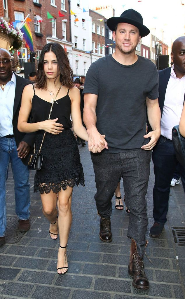 Jenna Dewan & Channing Tatum from The Big Picture: Today's Hot Pics  The always-adorable couple catch a screening of Magic Mike XXLatVue Cinemas London on the eve of the film's U.K. premiere.