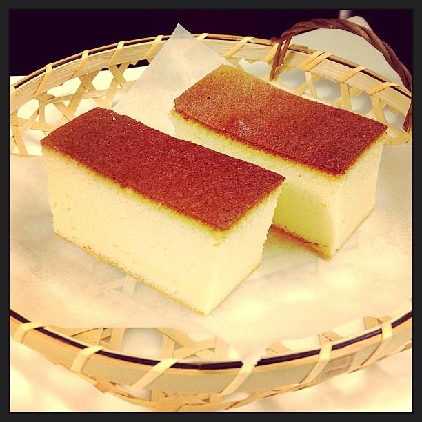 Honey Castella Cake Recipe