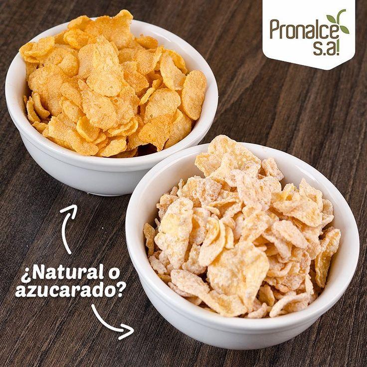 ¿Cuál de los dos #CerealesPronalce prefieres: Natural o Azucarado?    #Pronalce #Avena #Wheat #Trigo #Cereal #Granola #Fit #Oats #ComidaSaludable #Yummy #Delicious #Tasty #Instagood #Delicioso #Sano #HealthyFood #Breakfast #Protein #Nutrición #Cereales