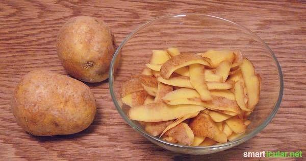 Ohne Chemie: Edelstahl, Leder und Glas reinigen mit Kartoffelschalen