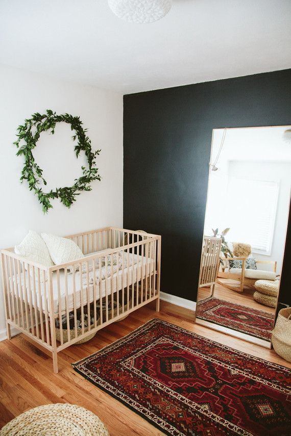 Eeee! Those final days waiting for baby. Paige Jones, photographer and mama behind this sweet bohemian nursery is in the midst of all that magic right now, which makes it such perfect timing to share