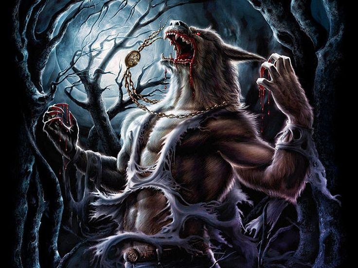 Scary Werewolf Wallpapers For Desktop