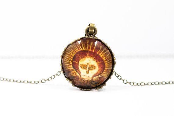 Skull necklace [Cave Art Collection]