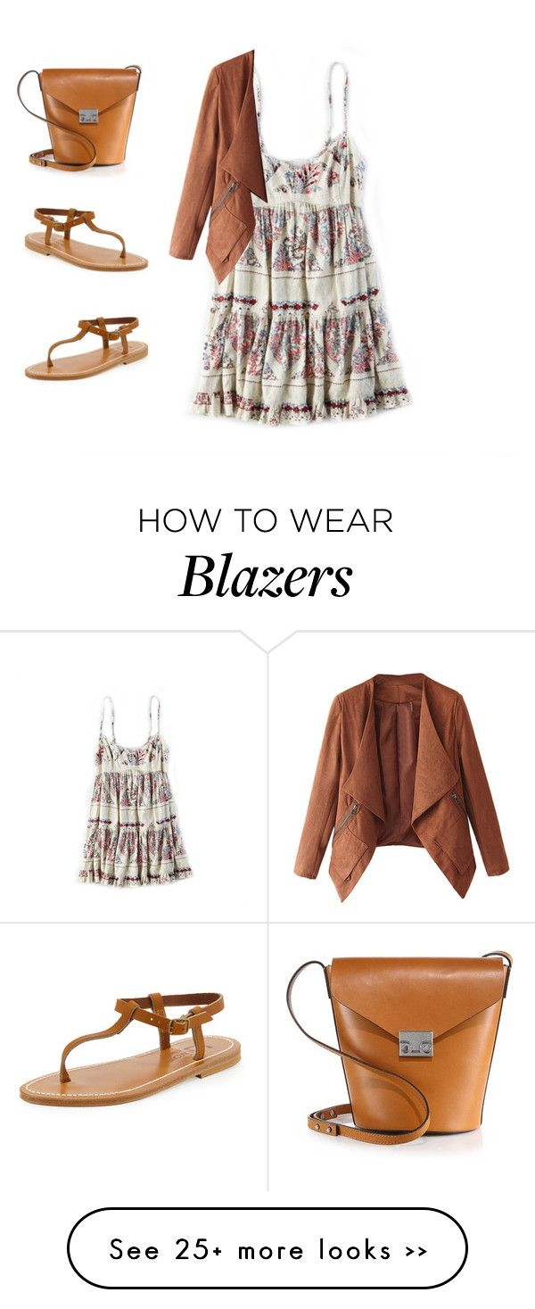 """""""Untitled #728"""" by kiky-miskovic on Polyvore featuring American Eagle Outfitters, K. Jacques and Loeffler Randall"""