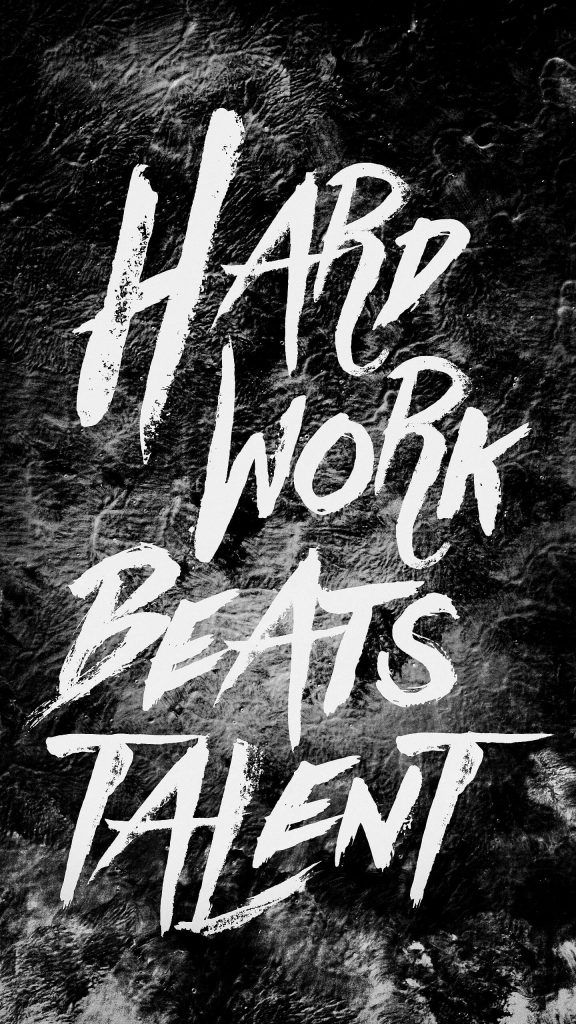 Iphonewallpaper Quotes Hard Work Beats Talent Wallpaper Quotes Quote Posters