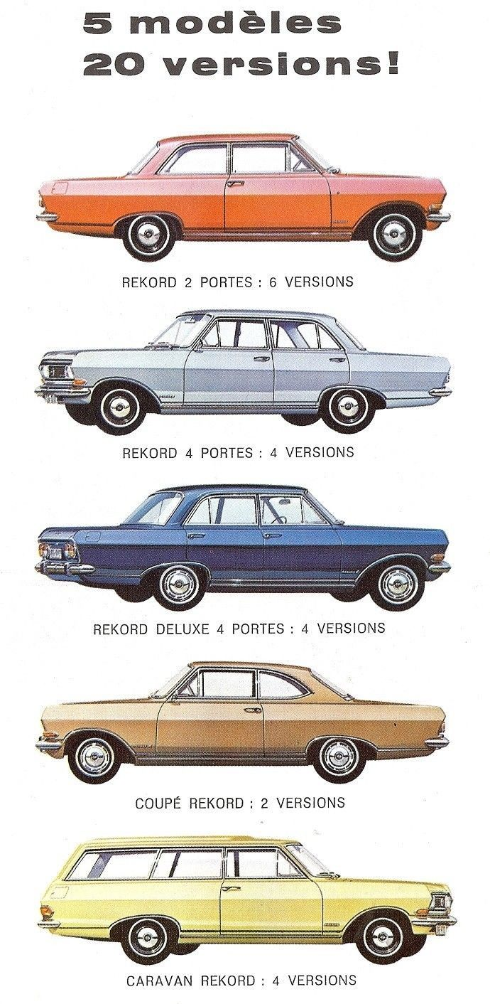 211 best opel images on pinterest classic trucks vintage cars opel rekord 1965 sciox Choice Image