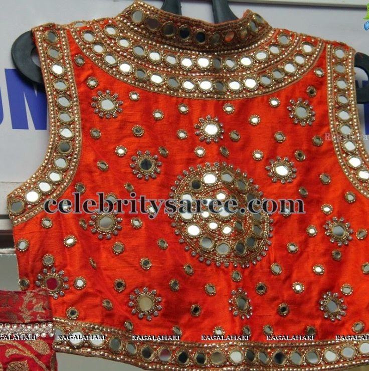 mirror work blouses - Google Search