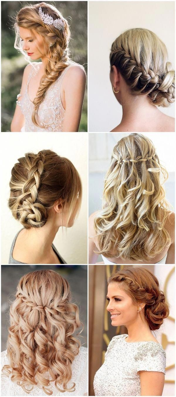 best braided hairstyle for bridesmaids wedding hairstyle