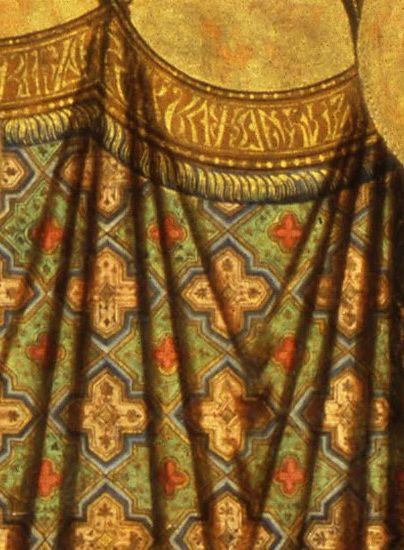 Duccio di Buoninsegna - Madonna Rucellai, dettaglio - 1285 circa - Galleria degli Uffizi, Firenze