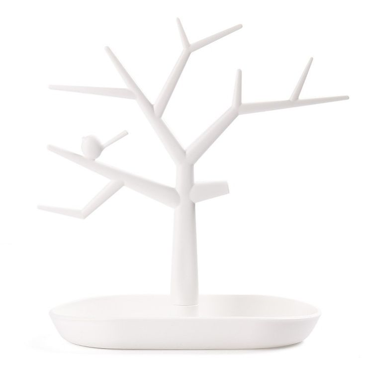 Nova Multifuncional Galho de Árvore Forma cor Branca Jóias Brinco Colar Pulseira Anel de Exibição Stand de Exibição para Brincos em Jóias Embalagens & Display de Jóias & Acessórios no AliExpress.com   Alibaba Group