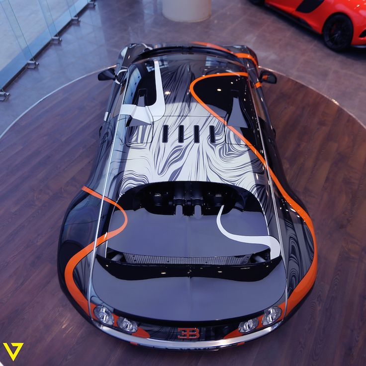 Absurdly Wrapped Bugatti Veyron Super Sport For Sale In: Absurdly-Wrapped Bugatti Veyron Super Sport For Sale In
