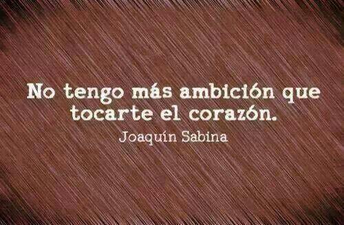 frase de Sabina