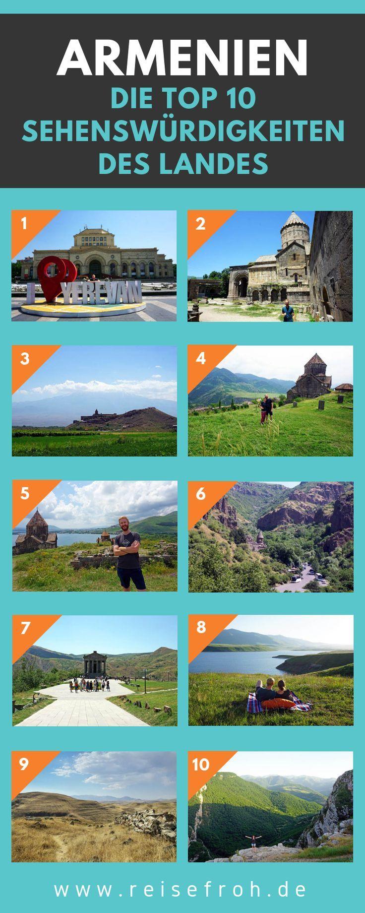 Armenien Sehenswurdigkeiten Top Highlights Reisetipps Reisen Weltreise Und Weltreise Planen