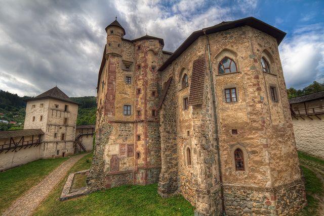 """spectralworld: """" Old Castle in Banska Stiavnica by theodevil on Flickr. """""""