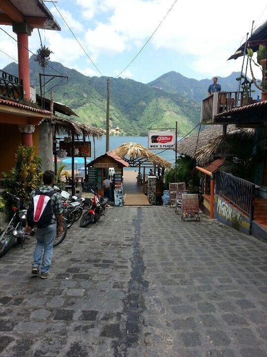 San Pedro La Laguna, Solola, Guatemala. Atitlan Lake. One of my pictures from my last trip.