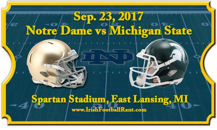 Irish Football Weekly:Notre Dame-Michigan State Preview W/Tony Hunter - The Grueling Truth