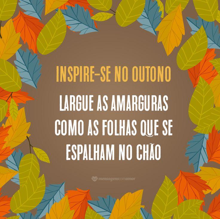 As folhas caem e o outono toma conta de nossas vidas. Aproveite a estação e renove-se como as árvores!