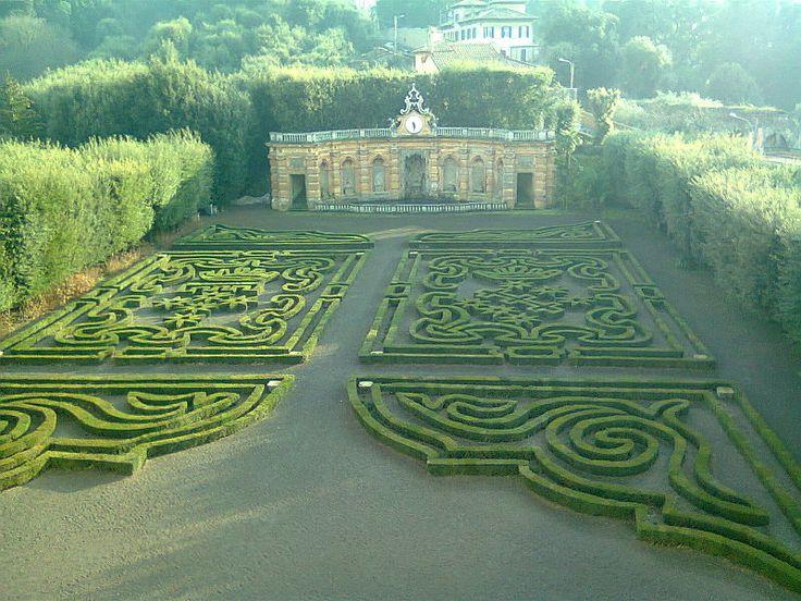 Giardino e Ninfeo Villa Lancellotti a Frascati, Rome