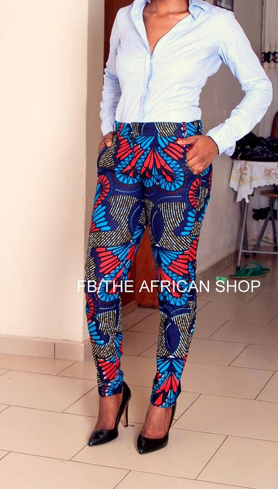 LOVE LOVE LOVE these trousers! SALES 35% OFF Teumi Trouser by THEAFRICANSHOP on Etsy, £28.00 ($47.66 USD)