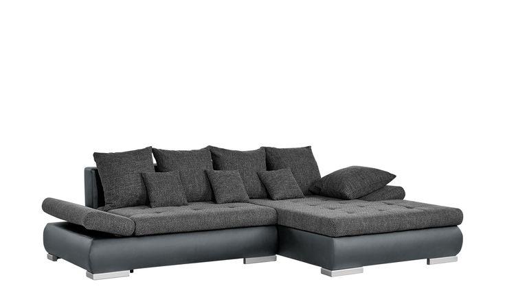 Recamiere Revel I Webstoff Sofa Mit Bettfunktion Sofas Mobel Sofa
