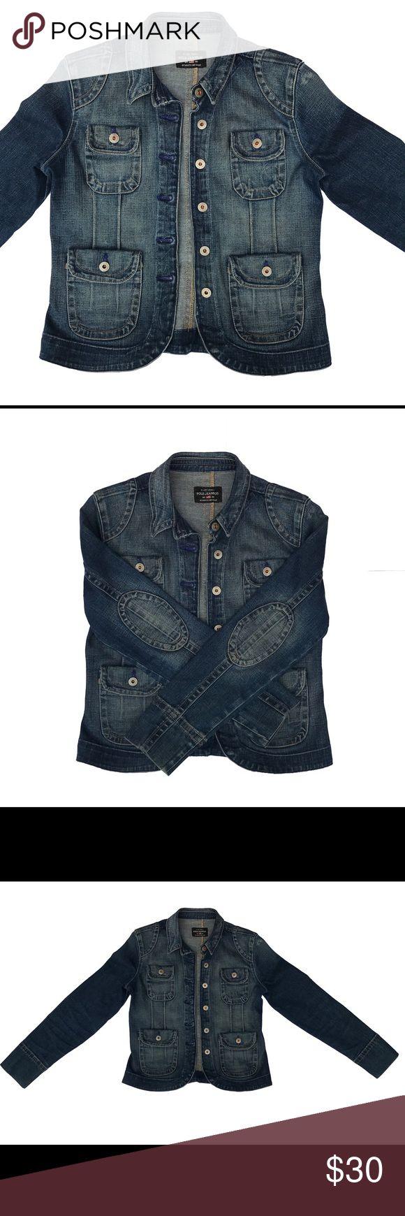 Ralph Lauren Polo Jeans Women's Jean Jacket Ralph Lauren Polo Jeans Women's Jean Jacket in a medium.The jacket is in great shape.Thank you for looking!! Ralph Lauren Polo Jeans  Jackets & Coats Jean Jackets