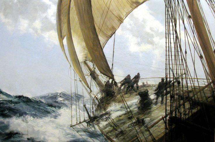 marine oil paintings: MacConnal-Mason Gallery