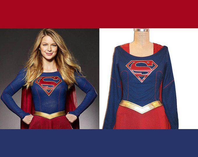 #SupergirlCostume Replica... #Melissa Benoist Super Girl Costume TV Series Costume... Choose your Style/Price