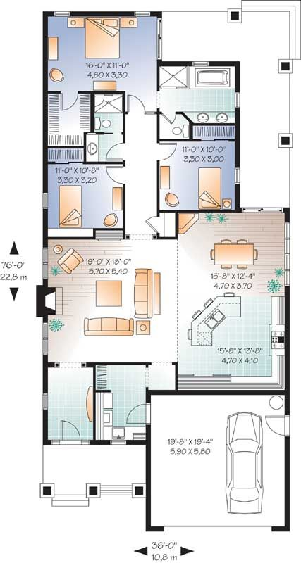 487 Best Floorplans Images On Pinterest Floor Plans