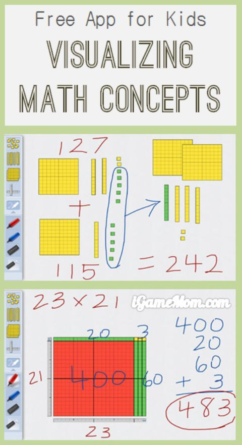Free App: Visualize Math Concepts with Base10   iGameMom